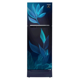 Samsung 253 Litres 2 Star Frost Free Inverter Double Door Refrigerator (Base Stand Drawe, RT28T31429U/HL, Paradise Blue)_1