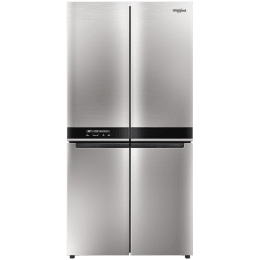 Whirlpool 677 L Side-by-Side Inverter Refrigerator (WS Quarto 677, Saturn Steel)_1