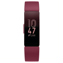 Fitbit Inspire Fitness Tracker (OLED Touchscreen Display, FB412BYBY, Sangria, Elastomer Band)_1