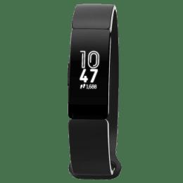 Fitbit Inspire Fitness Tracker (OLED Touchscreen Display, FB412BKBK, Black, Elastomer Band)_1