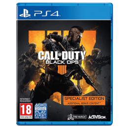 PS4 Game (Call of Duty: Black Ops 4 - Specialist Edition)_1