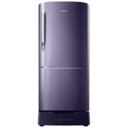 Samsung 192 L 3 Star Direct Cool Single Door Inverter Refrigerator (RR20R182ZUT/HL, Pebble Blue)_1