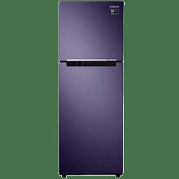 Samsung 253 L 3 Star Frost-Free Double-Door Inverter Refrigerator (RT28R3023UT/NL, PEBBLE Blue)_1