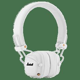 Marshall Major III Headphones (MS-MAJ3-WHT, White)_1