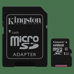 Kingston UHS-1 128GB Class 10 Memory Card (SDCS/128GBIN, Black)_1