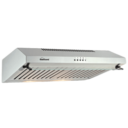 Sunflame Aveo Dx 700 m3/hr 60cm Wall Mount Chimney (Push Button Controls, 8112, Silver)_1