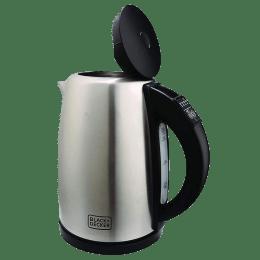 Black & Decker 1.7 Litres 2200 Watts Electric Kettle (Detachable Base, BXKE1705IN, Grey)_1