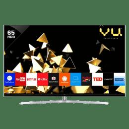 Vu 165 cm (65 inch) 4k Ultra HD QLED Smart TV (65HQ137, Black)_1