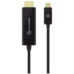 ALOGIC 200 cm HDMI (Type-A) to USB (Type-C) Cable (ELUCHD-02RBLK, Black)_1