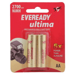 Eveready AA Rechargeable Battery (2700, Gold) (Pack of 2)_1