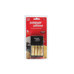Eveready Intelligent Battery Charger with 2700 Series AA Battery (2700, As Per Stock Availability)_1