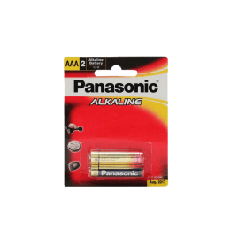 Panasonic AAA Alkaline Battery (Red/Gold) (Pack of 2)_1