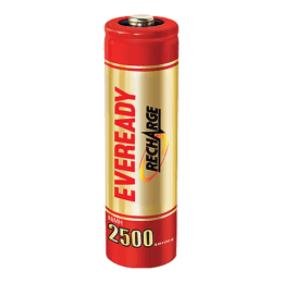 Eveready AA Rechargeable Battery (2500, Red/Gold) (Pack of 2)_1