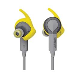 Jabra Sport Coach In-Ear Bluetooth Earphones with Mic (Grey/Yellow)_1