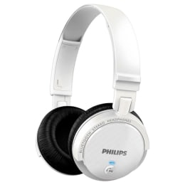 Philips Bluetooth Headphone SHB550 (White)_1