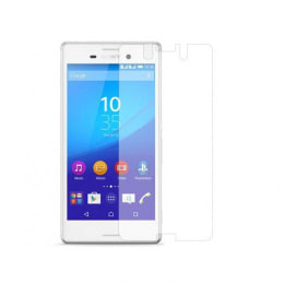 Stuffcool Puretuff Tempered Glass Screen Protector for Sony M4 (PTGPSYM4, Transparent)_1