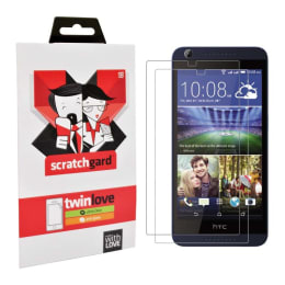 Scratchgard Twin Pack Screen Protector for HTC Desire 626G Plus (Transparent)_1