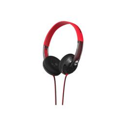 Skullcandy Uprock On-ear Headphone (Red/Clear)_1