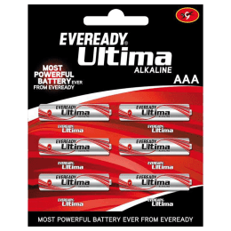 Eveready Ultima AAA Alkaline Battery (2112, Red/Silver) (Pack of 6)_1