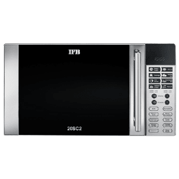 IFB 20 Litres Convection Microwave Oven (20SC2, Metallic Silver)