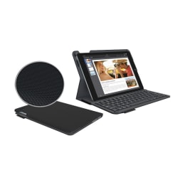 Logitech Type+ Back Case with Stand for Apple iPad Air 2 (920-006595, Black)_1