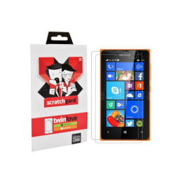 Scratchgard Twin Pack Screen Protector for Nokia Lumia 435 (Clear)_1