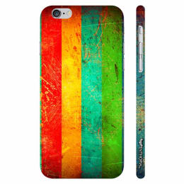 Enthopia Plastic Back Case Cover for Apple iPhone 6/6S (ED-5089, Multicolor)_1