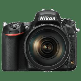 Nikon 24.3 MP DSLR Camera Body with 24 - 120 mm Lens (D750, Black)_1