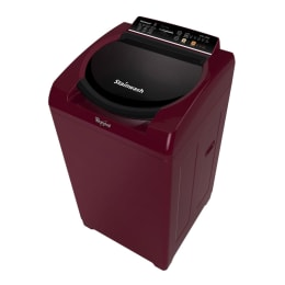 Whirlpool 7.2 kg Fully Automatic Top Loading Washing Machine (SWUL72H, Wine)_1