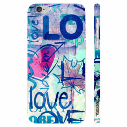 Enthopia I Love Me Polycarbonate Back Case Cover for Apple iPhone 6 (ED-5251 iPhn6, Blue)_1