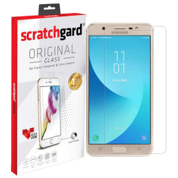 Scratchgard Tempered Glass Screen Protector for Samsung Galaxy J7 Max (Transparent)_1