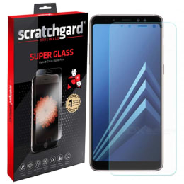 Scratchgard Tempered Glass Screen Protector for Samsung Galaxy A8 Plus (Clear)_1
