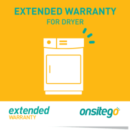 Onsitego 2 Year Extended Warranty for Dryer (Rs.100,000 - Rs.150,000)_1