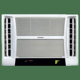 Hitachi Summer QC 1.5 Ton 5 Star Window AC (Copper Condenser, RAV518HUD, White)_1