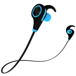 Leaf Ear Deep Bass Bluetooth Earphones (Cool Blue)_1