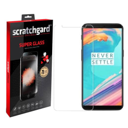 Scratchgard Tempered Glass Screen Protector for OnePlus 5T (Transparent)_1