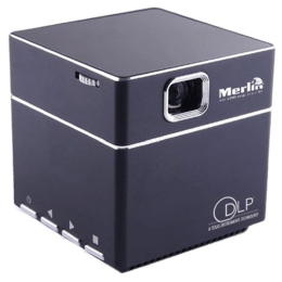 Merlin Cube DLP Projector (Black)_1