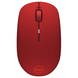 Dell WM126 Optical Wireless Mouse (Red)_1