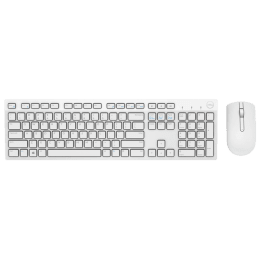 Dell KM636 Wireless Keyboard & Mouse Combo (White)_1