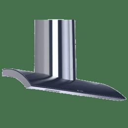 Faber Crown 90cm Cassette Filter Wall Mount Chimney (BK TC 90, Black)_1