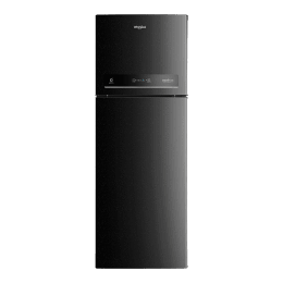 Whirlpool 265 L 4 Star Frost Free Double Door Inverter Refrigerator (IF INV 278 ELT, Black)_1