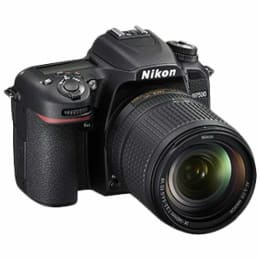 Nikon 20.9 MP DSLR Camera Body with 18 - 105 mm Lens (D7500, Black)_1