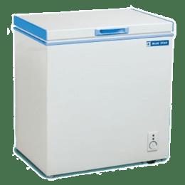 Blue Star CHFSD300D 302 Litres Hard-Top Deep Freezer (White)_1