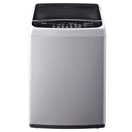 LG 6.5 kg Fully Automatic Top Loading Washing Machine (T7581NDDLG, Silver)_1
