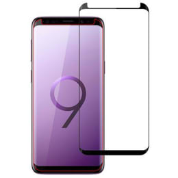 Stuffcool Full Covarage 3D Tempered Glass Screen Protector for Samsung Galaxy S9 (MGGP3DSGS9, Black)_1