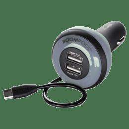 Boompods Carpod In-Car Charger (BP-QFP-BLK, Black)_1