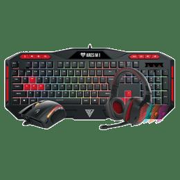 Gamdias Poseidon M1 RGB Gaming Keyboard/Mouse and Headset Combo (Black)_1