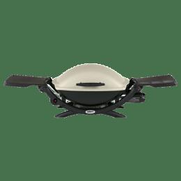 Weber Q 2000 Gas Griller (Indoor & Outdoor, 53060001, Titanium)_1