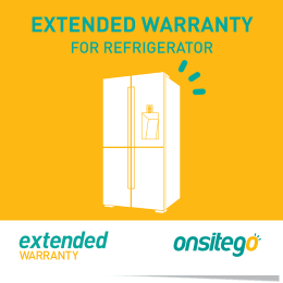 Onsitego 2 Year Extended Warranty for Refrigerator (Rs.400,000 - Rs.500,000)_1