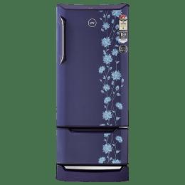 Godrej 225 L 4 Star Direct Cool Single Door Inverter Refrigerator (RD Edge Duo 225 PD, Erica Blue)_1